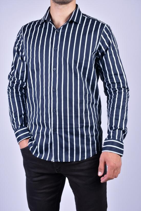 """Рубашка мужская """"LaGard"""" Размеры в наличии : 46, 48, 50, 52, 54, 56 арт.SDK7885"""