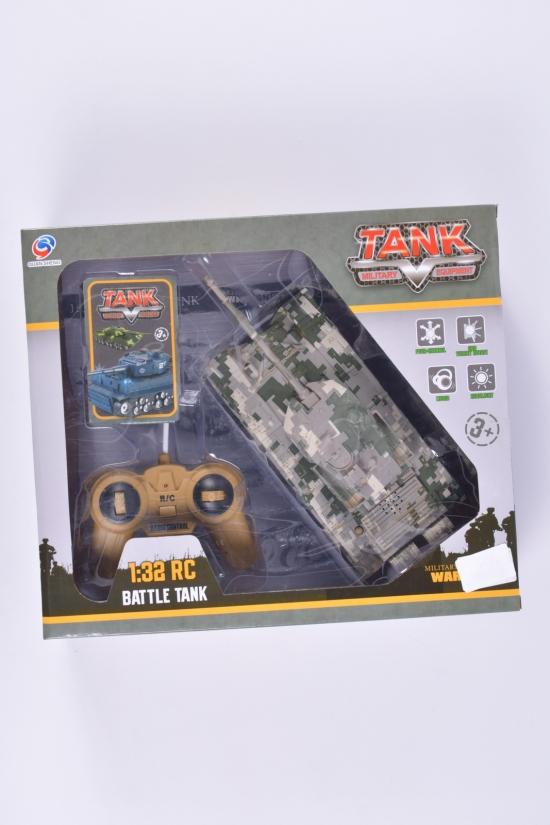 Танк на радиоуправлении в коробке 27/10,5/8см арт.QS3001A-13