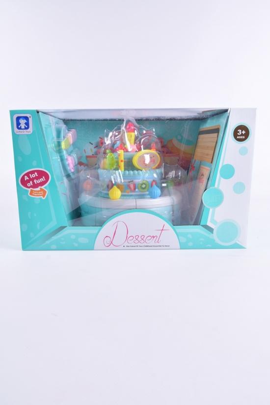 """Набор продуктов """"Торт""""(звук, свечи, декор) арт.LKE6A5"""