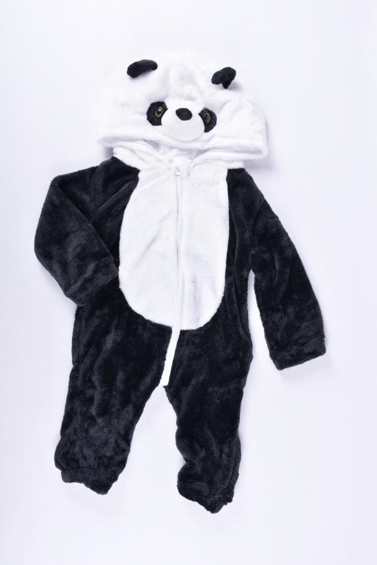 """Пижама-кенгуру детская травка """"Мишка"""" Размеры в наличии : 62, 68, 74, 80 арт.C1"""