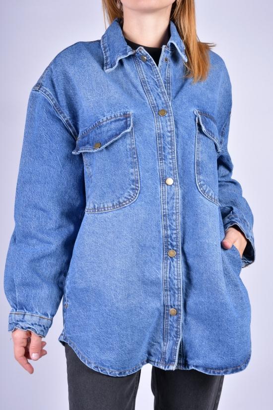Пиджак женский котоновый (цв.синий) OREO Размеры в наличии : 42, 44, 46 арт.5172-1