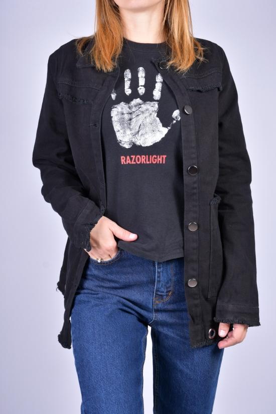 Пиджак джинсовый женский ASIST Размеры в наличии : 40, 42, 44 арт.2066