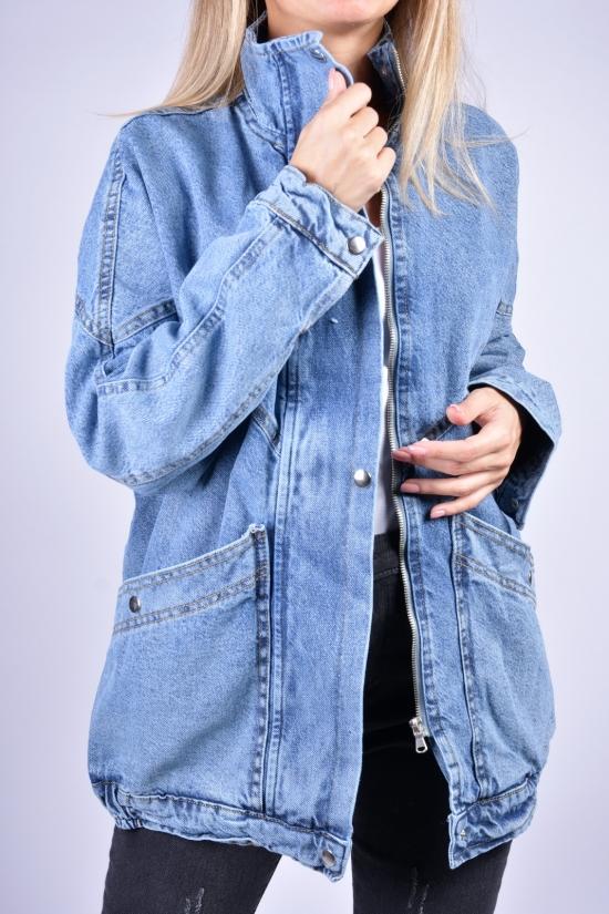 Пиджак джинсовый женский ASIST Размеры в наличии : 40, 42, 44 арт.105