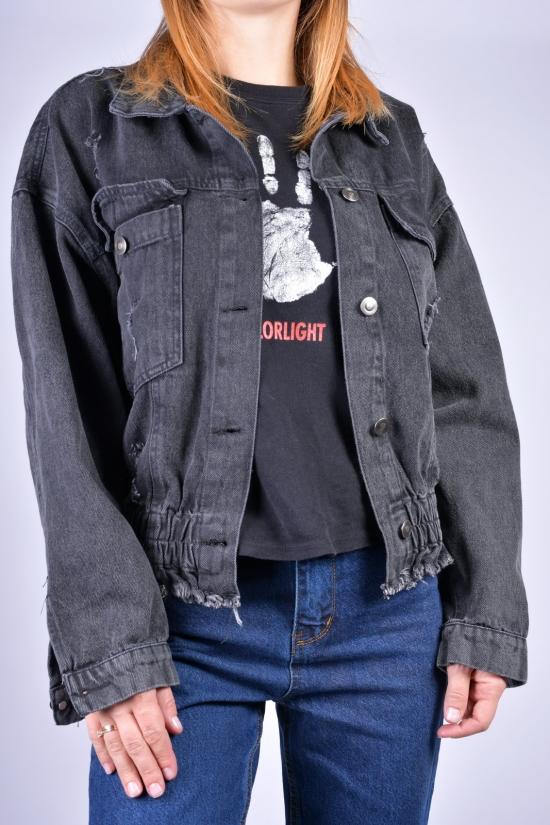 Пиджак джинсовый женский ASIST Размеры в наличии : 40, 42, 44 арт.4006