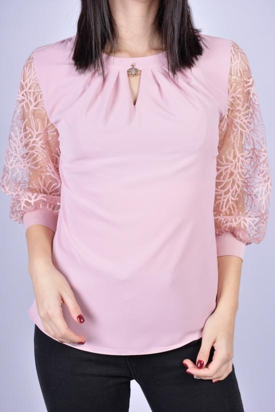 Блузка женская (цв.пудры) ESAY Размеры в наличии : 40, 42, 44, 46 арт.9101