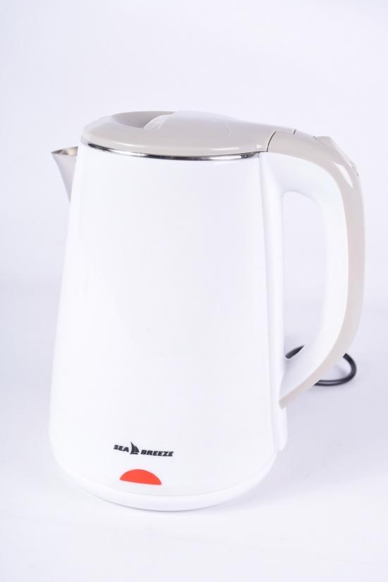 Электрочайник -термос дисковый 1.8 л. 1500 вт. SeaBreeze арт.SB-010