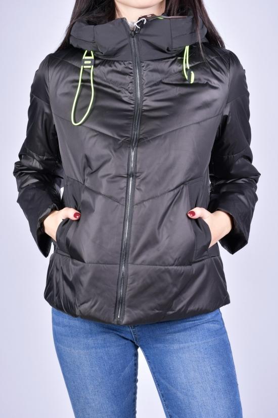 Куртка женская демисезонная (цв.черный) болоневая D.S Размеры в наличии : 42, 44, 46, 48, 50 арт.M21013