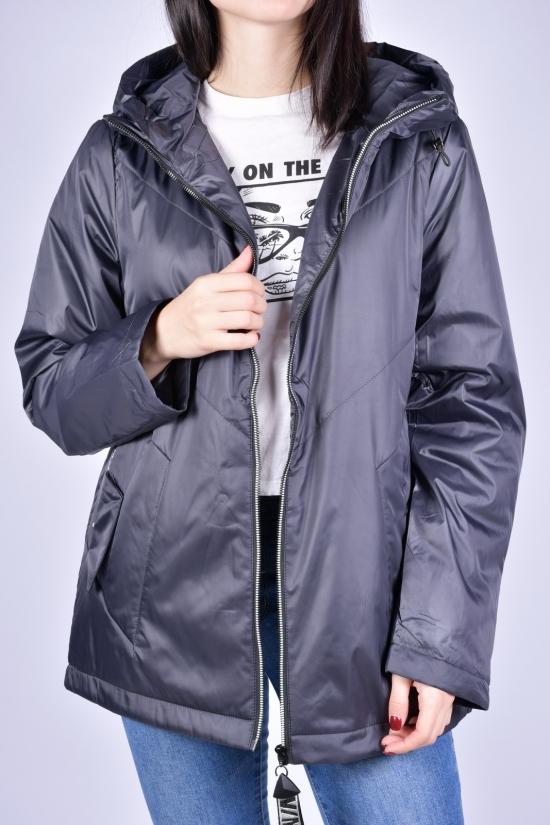 Куртка женская демисезонная (цв.серый) болоневая D.S Размеры в наличии : 48, 50, 52, 54, 56 арт.M21200