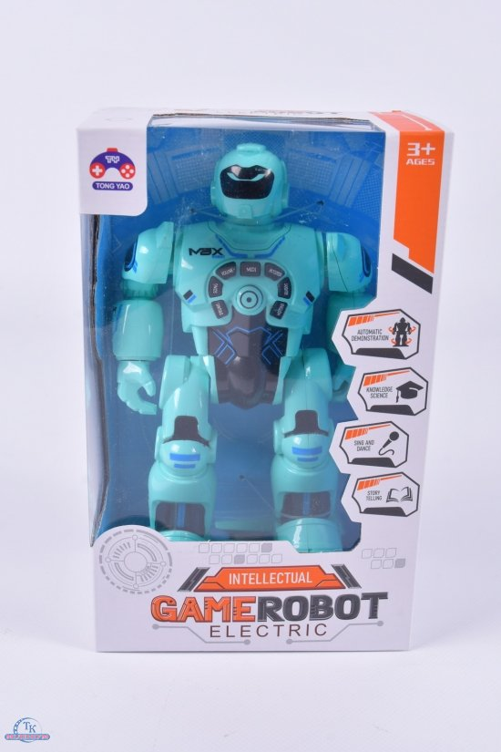 Робот на батарейках (размер игрушки 12,5/8/21см) арт.TY-419D