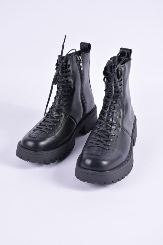 """Ботинки женские демисезонные (цв.чёрный) """"VEAGIA"""" Размеры в наличии : 38, 39, 40, 41 арт.LE2370"""