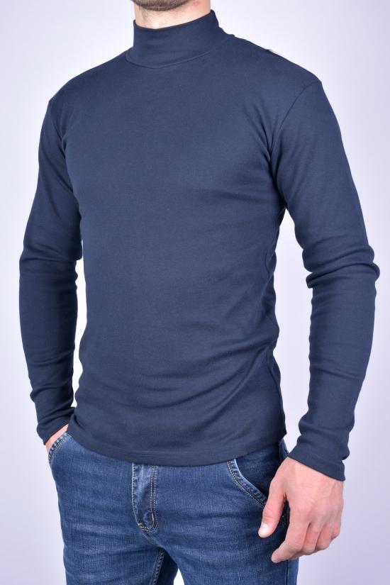 Гольф мужской трикотажный (цв.т.синий) WILUSA (100%cotton) Размеры в наличии : 44, 46, 48, 50, 52 арт.630542