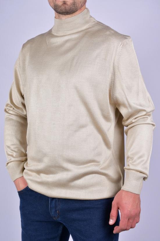 Гольф мужской тонкой вязки WOOL Размеры в наличии : 48, 50, 52, 54 арт.631031