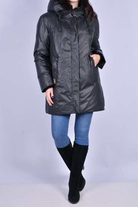 Куртка женская (цв.черный) демисезонная Размеры в наличии : 46, 48, 50, 52, 54 арт.B630