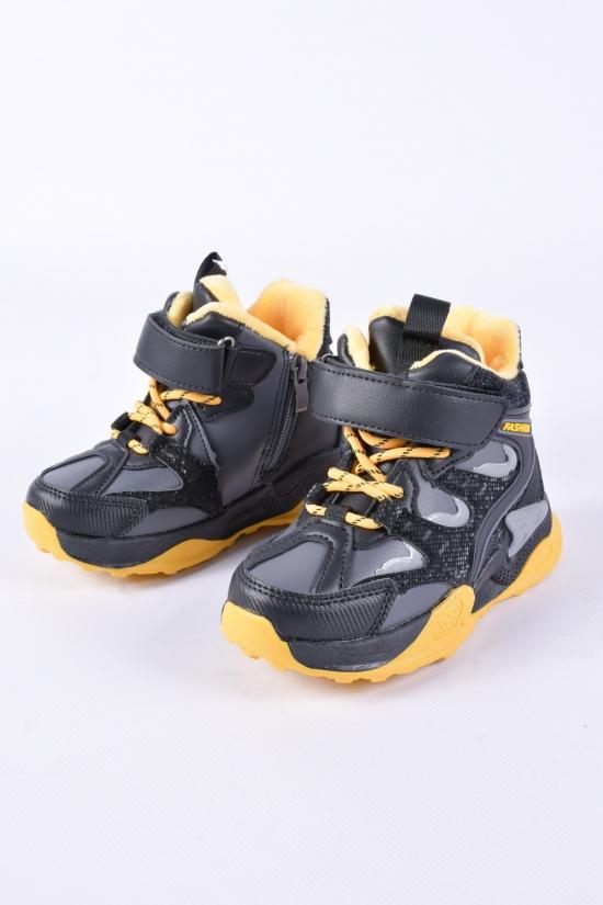 Ботинки для мальчика W.niko с микро-мехом Размеры в наличии : 26, 27, 28, 29, 30, 31 арт.BM20065-2