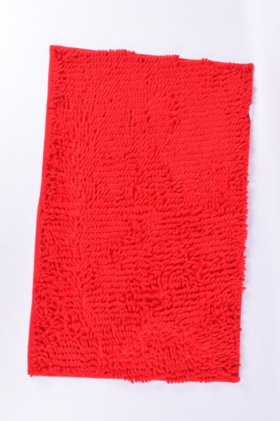 """Коврик """"Лапша"""" (цв.красный) на резиновой основе (микрофибра) размер 50/80 см. арт.коврик"""