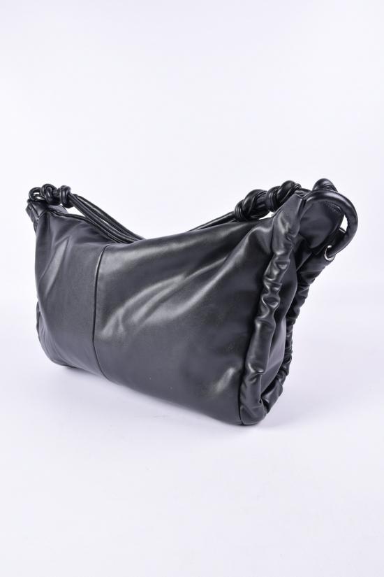Сумка женская (цв.черный) размер 43/32 см. арт.CD-8066