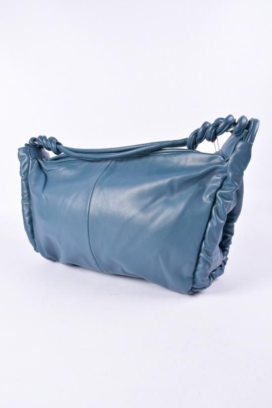 Сумка женская (цв.голубой) размер 43/32 см. арт.CD-8066