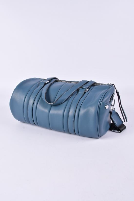 Сумка женская (цв.голубой) размер 30/16/15 см. арт.BRL-9044