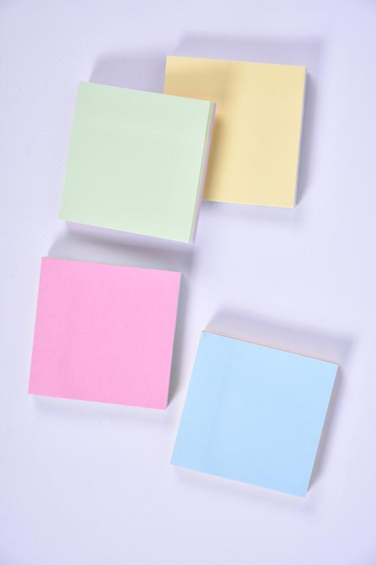 Бумага для заметок 100 листов цветная 76/76мм арт.0060