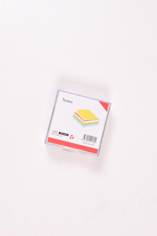 Бумага для заметок в коробке размер 8,5/8,5 см арт.TH03
